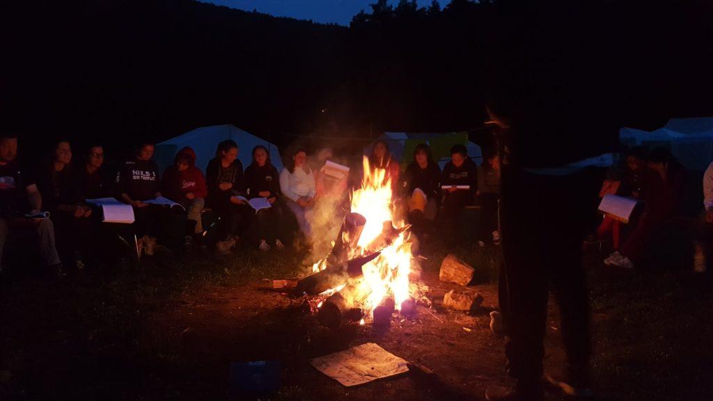 Tägliches Lagerfeuer
