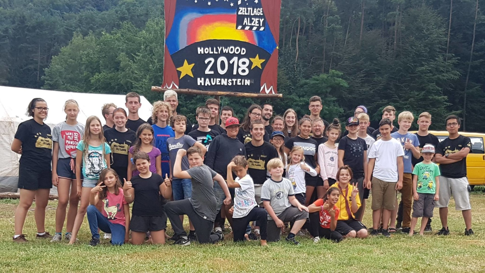 Zeltlager 2018 – Hauenstein