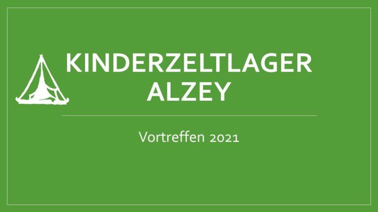Vortreffen 2021